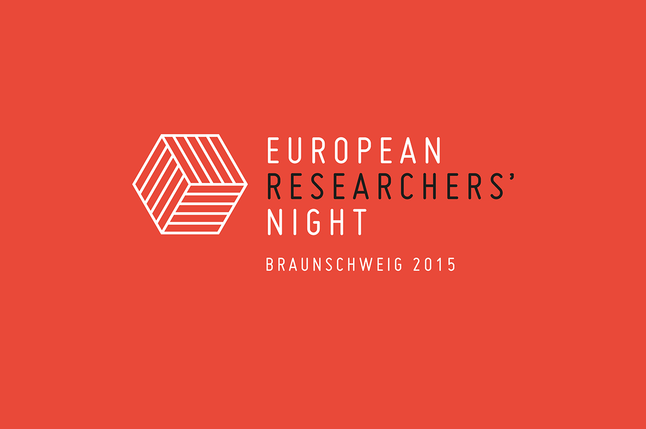 European Researchers Night Braunschweig 2015 Wissenschaft Forschung Event Corporate Design