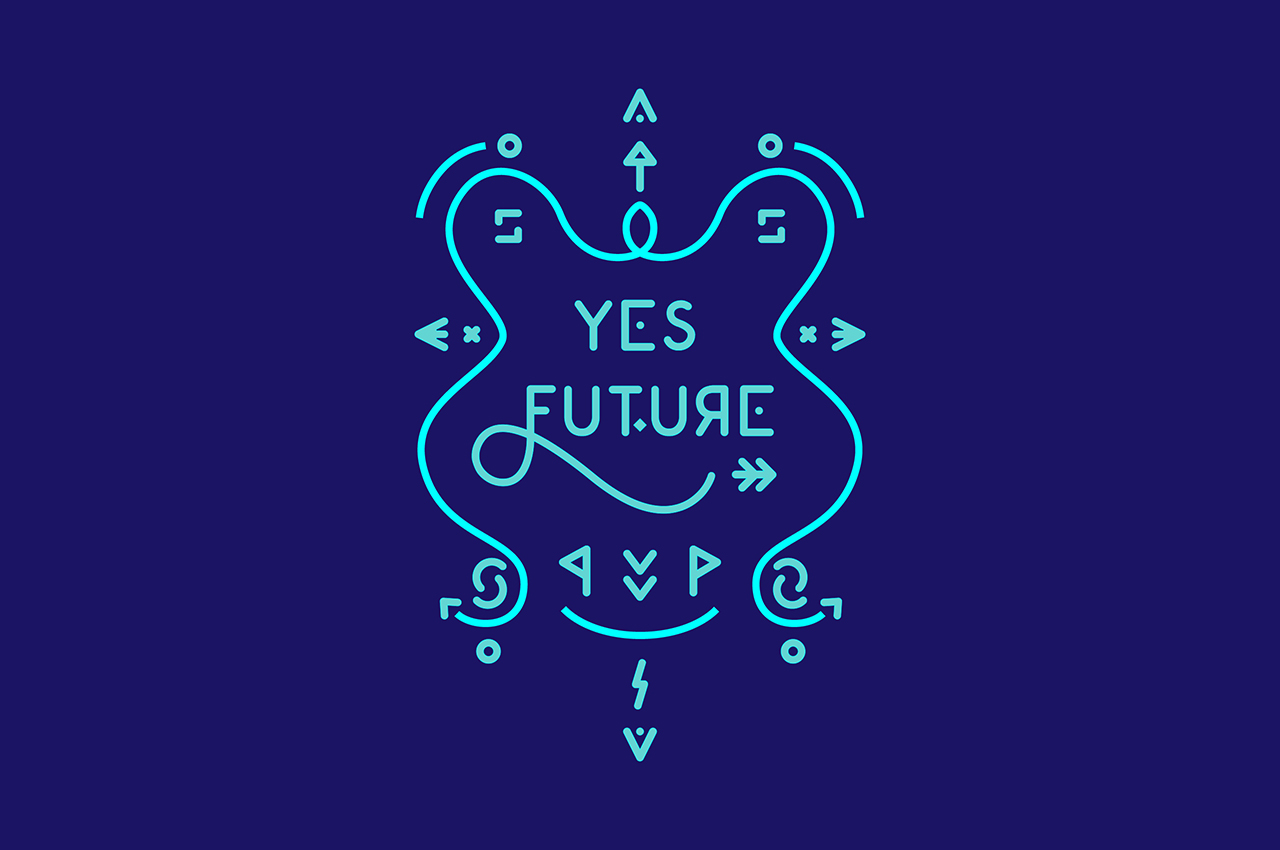 yes future! Memodarium 2016 Typographic Typo Quote